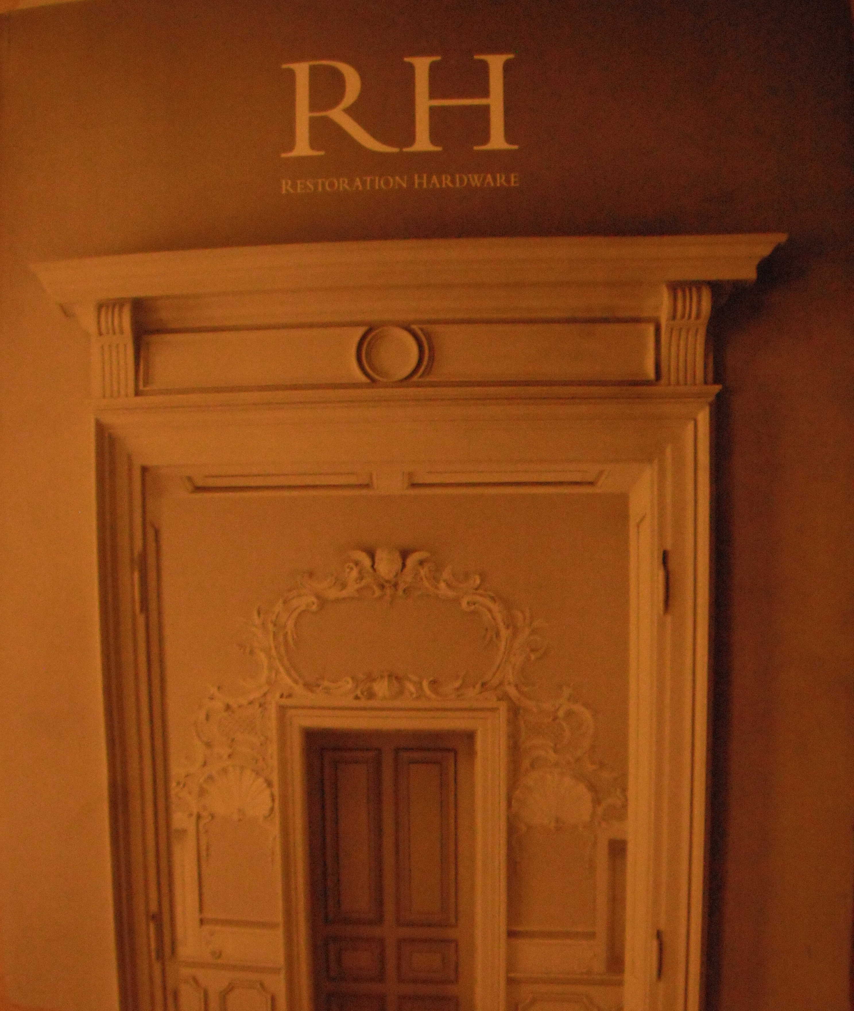 Restoration Hardware Catalog Fall 2012 Source Book