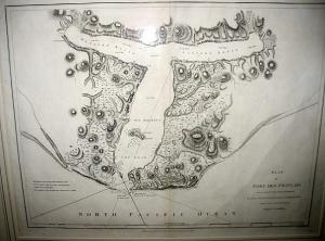 Lituya Bay map