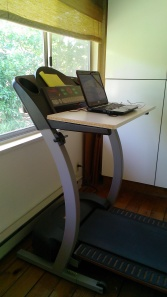 walking desk, treadmill desk