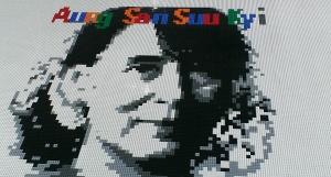 Aung San Suu Kyi, Ai Weiwei, @Large, Alcatraz, Lego