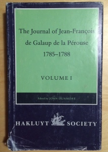 My well-worn copy of the English translation of Lapérouse's journal