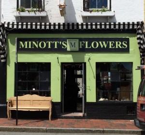 Minott's Flowers, Portland, a lovely venue